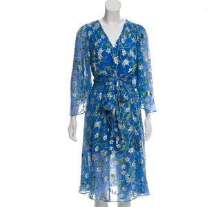 NWT! ALICE + OLIVIA Floral Printed Jacquard Dress
